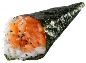 temaki saumon